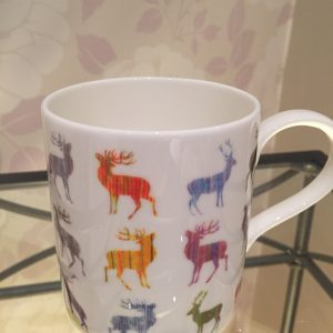 Colourful Stag Fine Bone China Mug