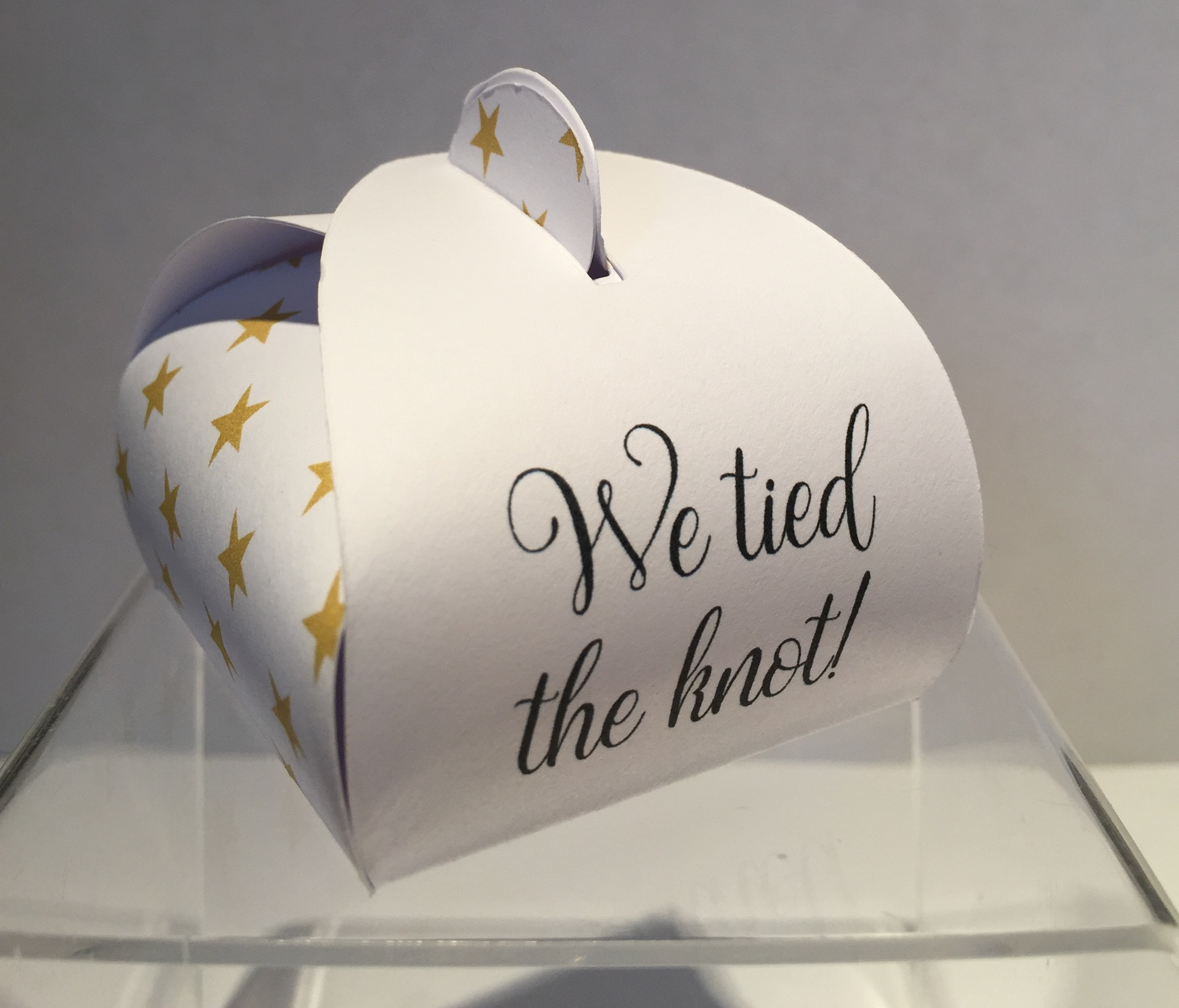 We Tied The Knot Personalised Wedding Favours Highland Favours