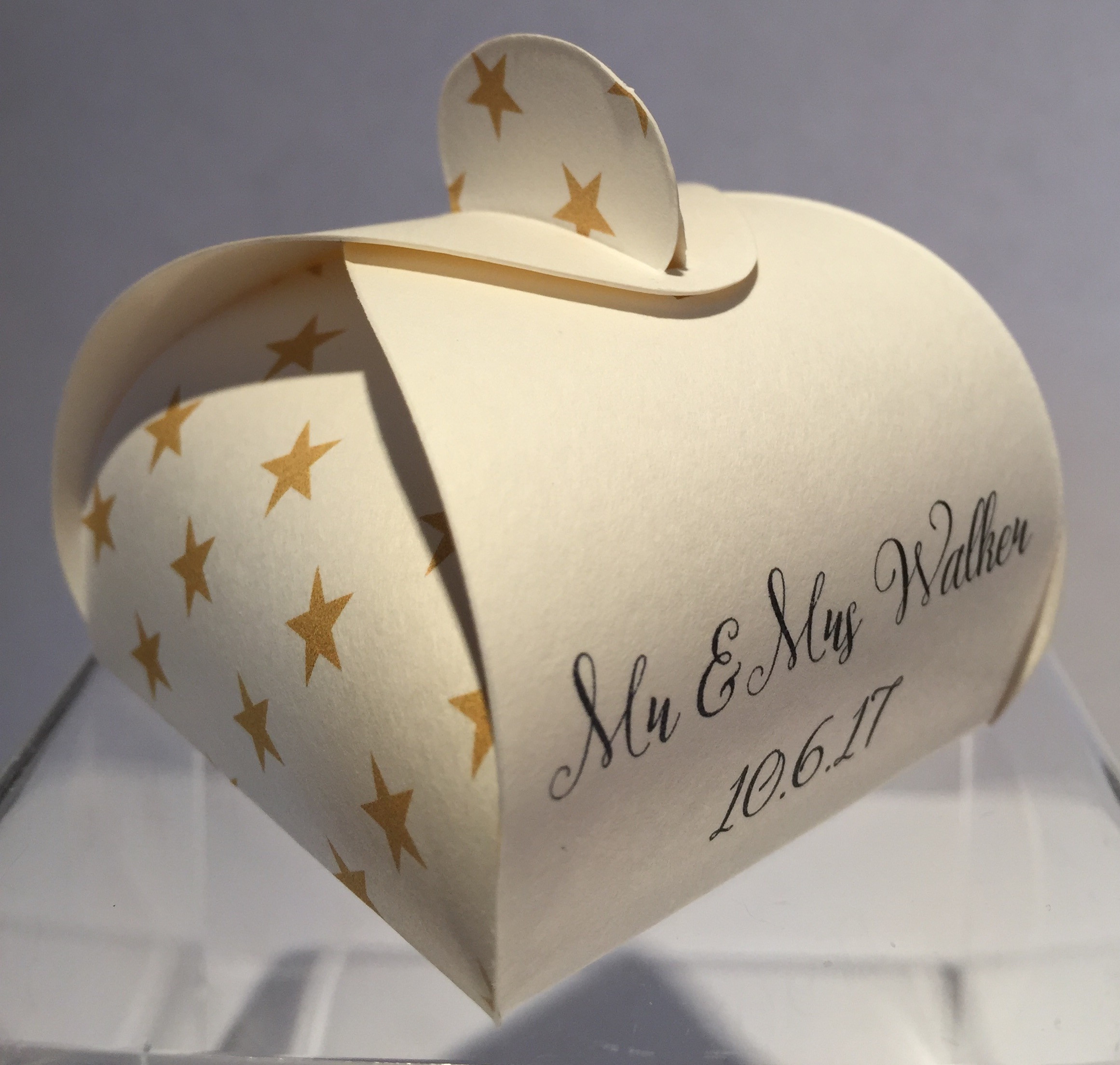 We Tied the Knot - Personalised Wedding Favours - Highland Favours