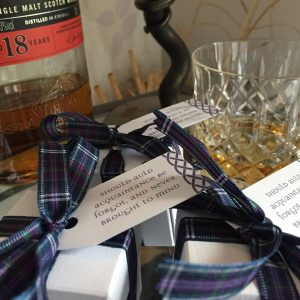 Burns Night Favour Boxes