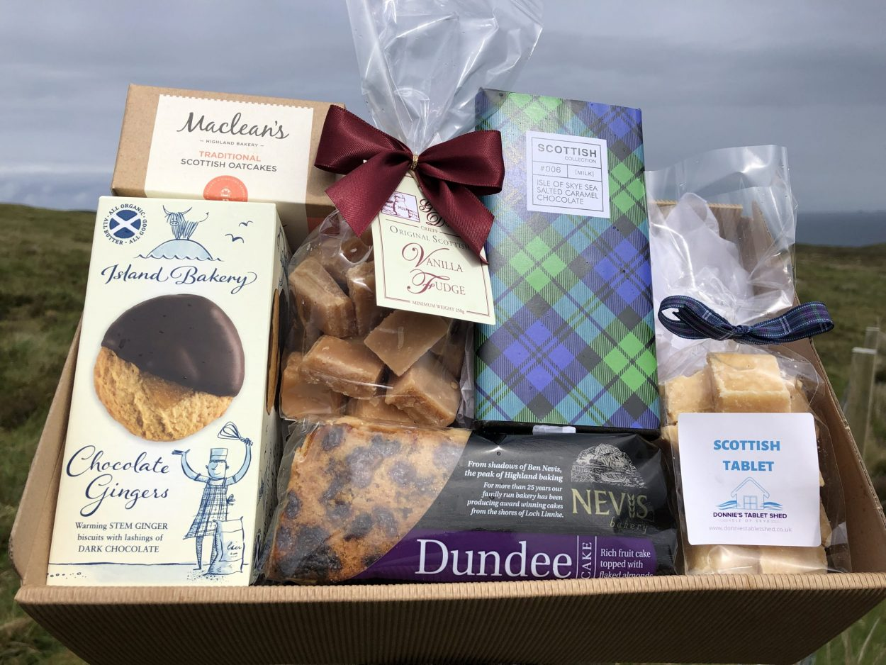 TASTE OF SCOTLAND SWEET TREATS HAMPER