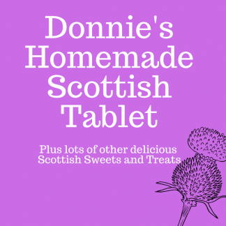 Donnie's Homemade Scottish Tablet